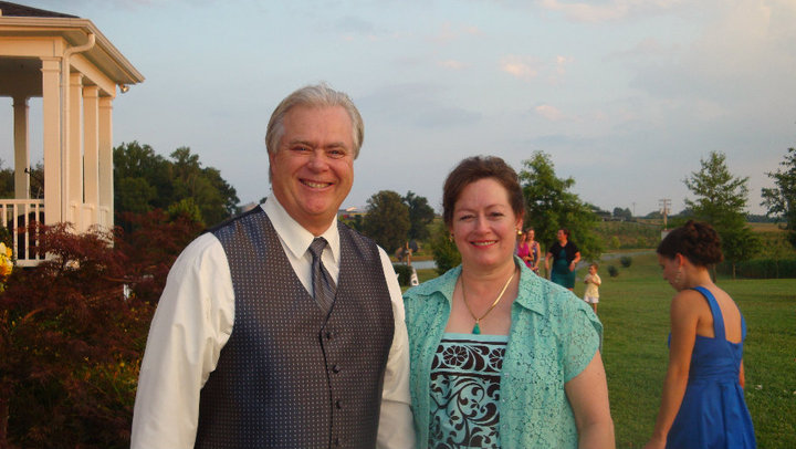 Author of Shadow of The Conjurer, Steve Gierhart, with his wife, Bonny Gierhart