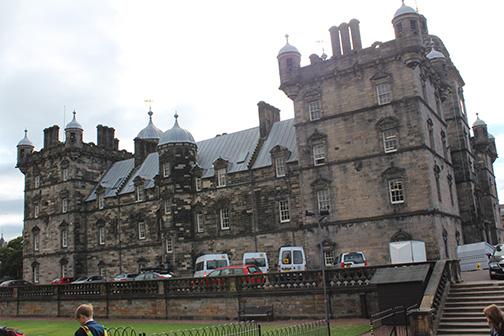 Heriot's School of Edinburgh, established in 1628, the basis for Hogwarts of Harry Potter fame.