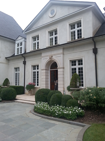 The entry for Les Forgerons, home of Mrs. Mark Smith of Huntsville