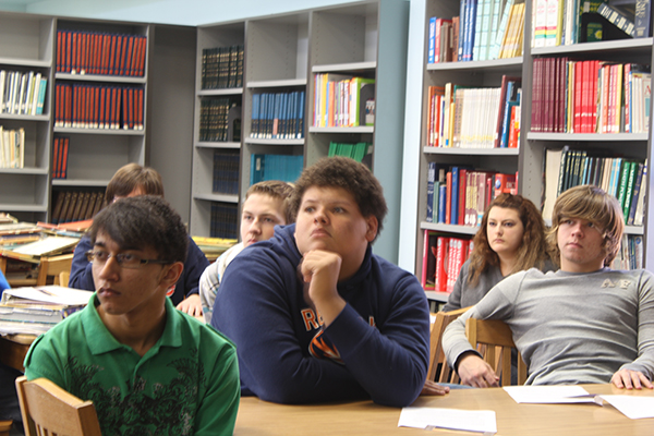 HLA's Young Writer Contest held significant interest with Red Bay High School Students