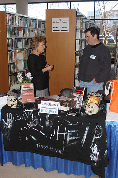 Greg Starnes, author of Hollers from the Hollows, talks with Ann Beatty of Slapout, Alabama, about his collection of ghost stories.