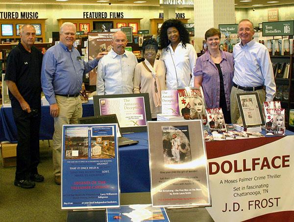 Group Shot of Attending Authors (L-R; Duke, Gierhart, Farley, Ealons, Pratt, The Frosts)