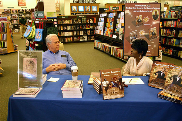 Steve Gierhart and Carol Ealons talk about her future manuscript about Sammy Lowe