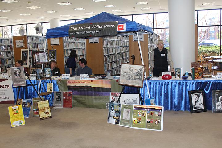 Author Expo 2015 Ardent Writer Press Tent