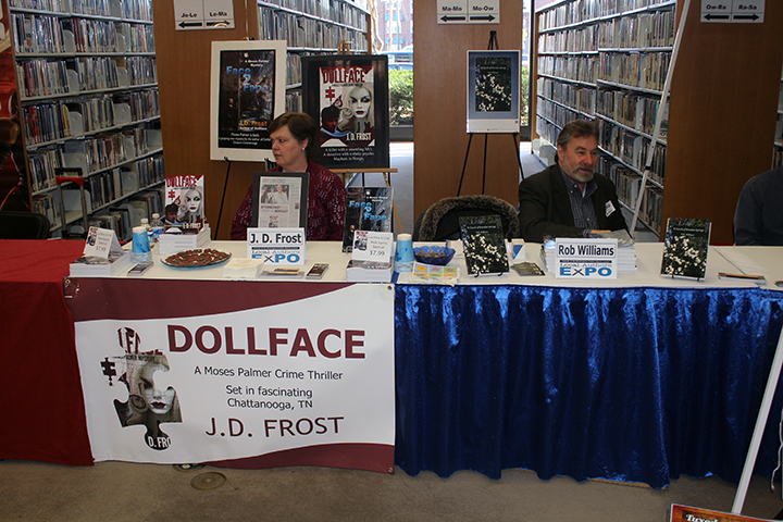 Donna Frost, wife of author J.D. Frost (Dollface) and Rob Williams (In Search of Brandon Springs)