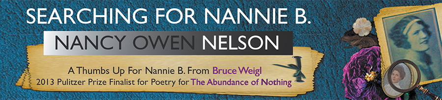 Searching for Nannie B Web Banner