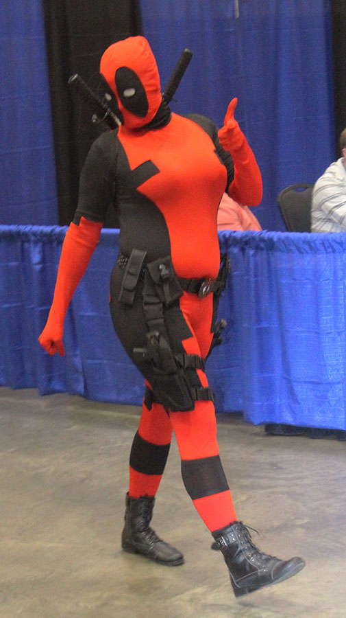 Another RCLF Costumer, Deadpool, from the Marvel Comics series