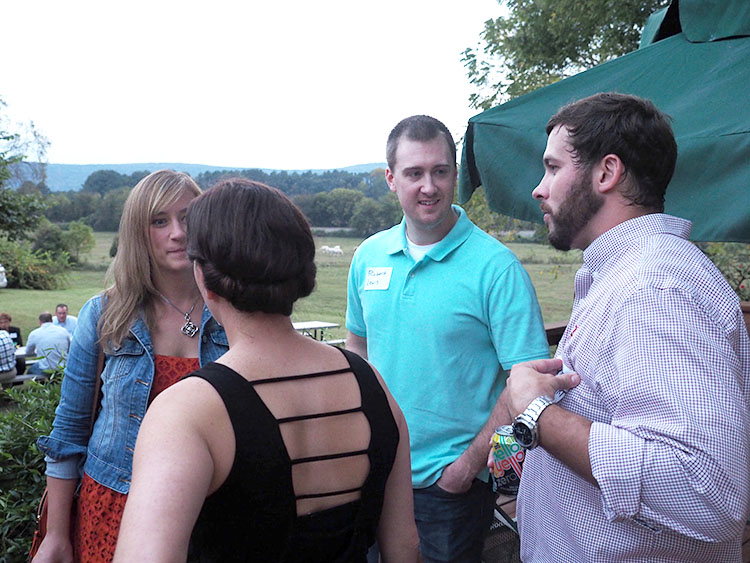 Erin Gierhart and Robert Lewis talk with Justin and Faith Gierhart.  Erin and Justin are children of publisher Steve Gierhart.