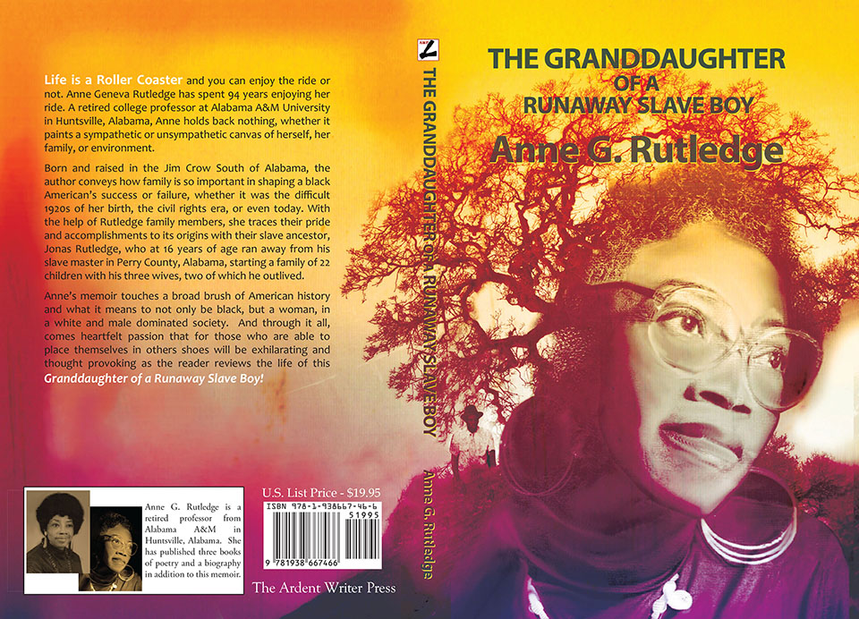 Granddaughter of a Runaway Slave Cover web size
