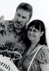 Rob Williams, Author of Sins of Variance, with wife, Gwyn